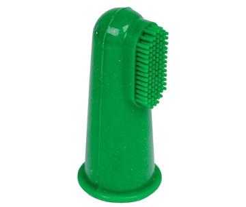 Vet's+Best Finger Силиконовая зубная щетка на палец, для собак и котов