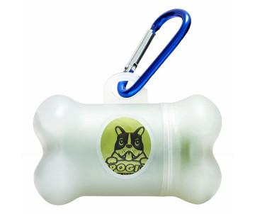 Poop Bag Poop's Dispenser Диспенсер для гигиенических пакетов + 15 пакетиков
