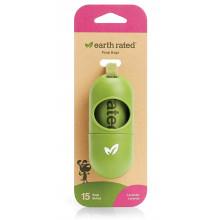 Earth Rated Leash Dispenser Диспенсер на поводок для гигиенических пакетов + 15 пакетиков