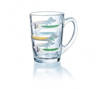 George Home Стеклянная чашка с собачками
