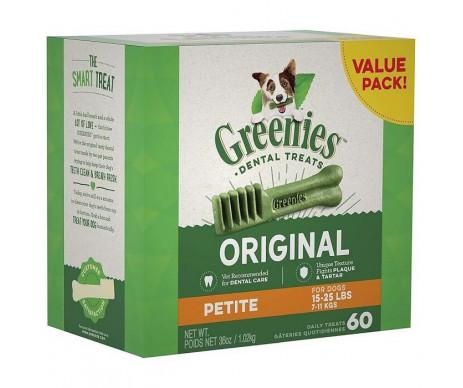 Greenies Original Petite Natural Dog натуральное жевательное лакомство для чистки зубов для собак от 2 до 7 кг
