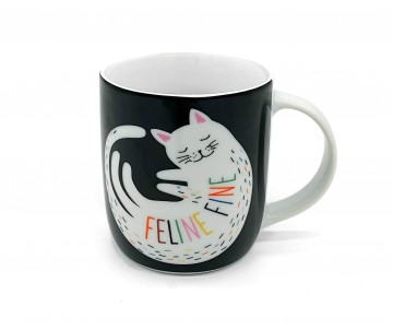 George Home Чашка с котиком