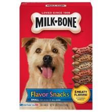 Milk-Bone Flavor Snacks печенье-лакомство для собак