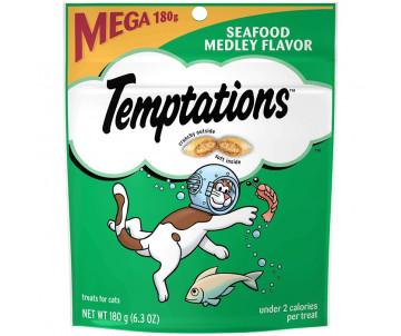 Temptations Tasty Chicken Flavor Хрустящие и мягкие угощения для кошек