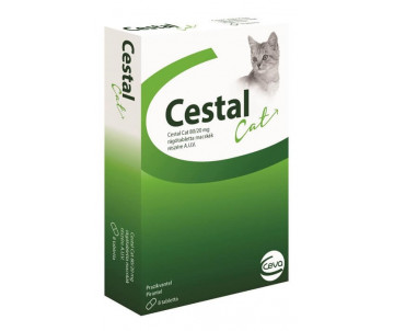 Ceva Cestal Cat Противоглистный препарат для кошек
