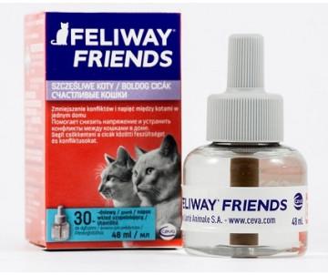 Ceva Feliway Friends (сменный блок) Устройство для снятия стресса и коррекции поведения у кошек при групповом содержании