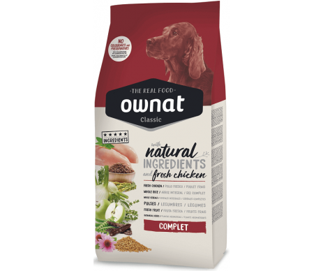 Ownat Classic Dog Adult Complet Chicken