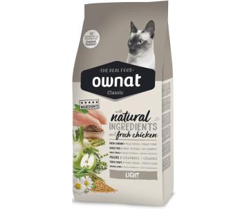 Ownat Light сухой корм для кошек, низкокалорийный