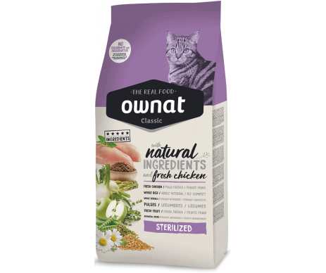 Ownat Cat Adult Sterilized Classic
