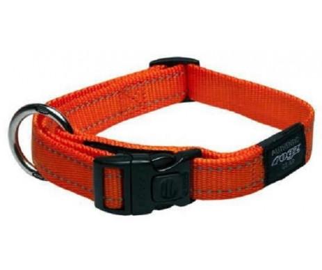 Rogz Utility Orange Нейлоновый ошейник для собак, оранжевый