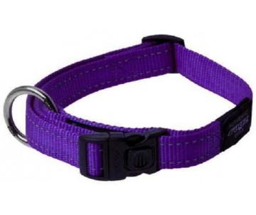 Rogz Utility Нейлоновый ошейник для собак, фиолетовый