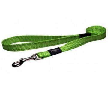Rogz Utility Green Нейлоновый поводок для собак, салатовый