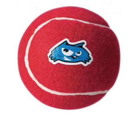 ROGZ Molecule Ball Игрушка для собак теннисный мяч красный