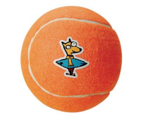 ROGZ Molecule Ball Игрушка для собак теннисный мяч молекула оранжевый