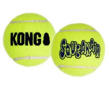 KONG Теннисный мячик с веревкой воздушная пищалка Игрушка для собак