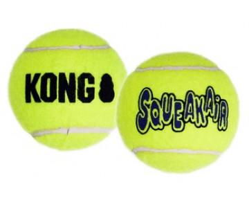 KONG AirDog Squeakair Ball Теннисный мячик воздушная пищалка Игрушка для собак, 2 шт