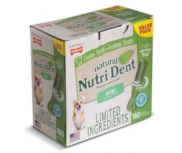 Nylabone Nutri Dent Natural натуральное жевательное лакомство для чистки зубов для собак, цена за 1шт