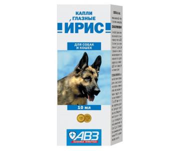 АВЗ «ИРИС» Капли глазные для котов и собак