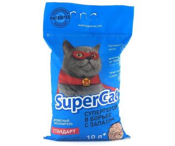 Super Cat Стандарт древесный наполнитель для кошачьего туалета