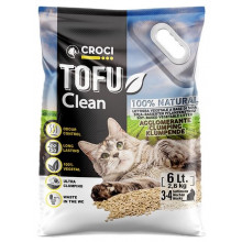 Croci TOFU Clean Соевый наполнитель для кошачьего туалета