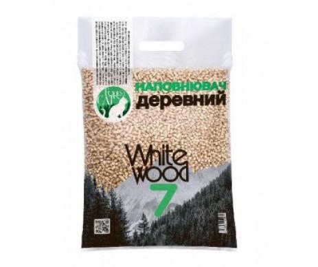 Forest Cat White Wood Гипоаллергенный древесный наполнитель для кошачьего туалета