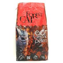 Forest Cat OAT Organic Pellets Гипоаллергенный наполнитель для кошачьего туалета