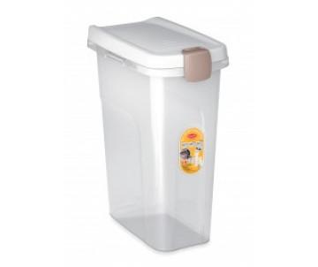 Stefanplast Контейнер для корма белый/прозрачный