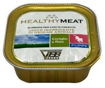 Healthy All days Dog Монопротеиновый влажный корм с кроликом для щенков
