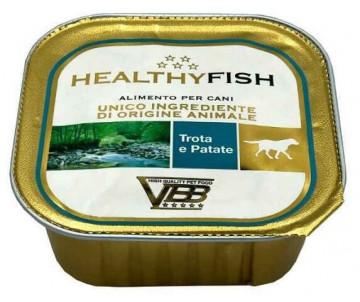 Healthy All days Dog Монопротеиновый влажный корм с форелью и картошкой для собак