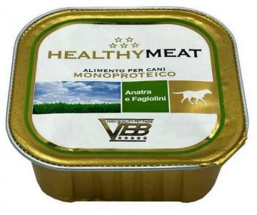 Healthy All days Dog Монопротеиновый влажный корм с уткой и фасолью для собак