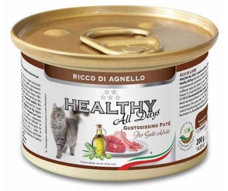 Healthy All days Cat Паштет с ягненком для котов