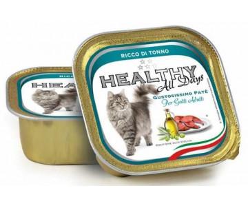 Healthy All days Cat Паштет с тунцом для котов