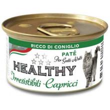 Healthy All days Cat Паштет с кроликом для требовательных котов