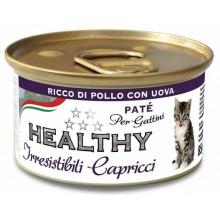 Healthy All days Cat Паштет с курицей и яйцами для требовательных котят