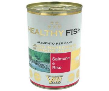 Healthy All days Dog Монопротеиновый влажный корм с лососем для собак
