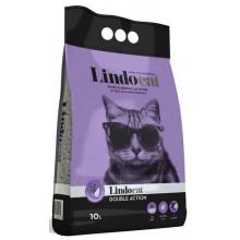 Lindocat Double Action Lavender&Argan бентонитовый наполнитель для кошачьего туалета аромат лаванда и арган
