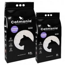 Catmania бентонитовый наполнитель для кошачьего туалета Лаванда + фиолетовые гранулы