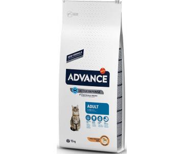 Advance Adult Chicken&Rice Курица и рис сухой корм для котов