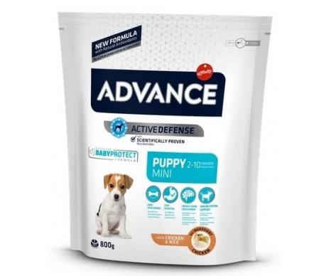 Advance Mini Puppy Курица и рис сухой корм для щенков