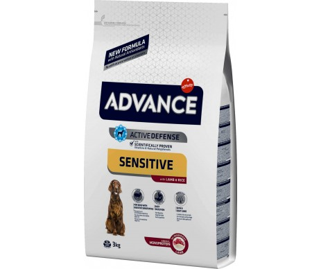 Advance Dog Sensitive Lamb&Rice
