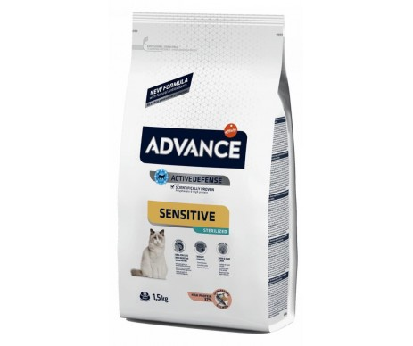 Advance Cat Adult Sterilized Sensitive Salmon Rice