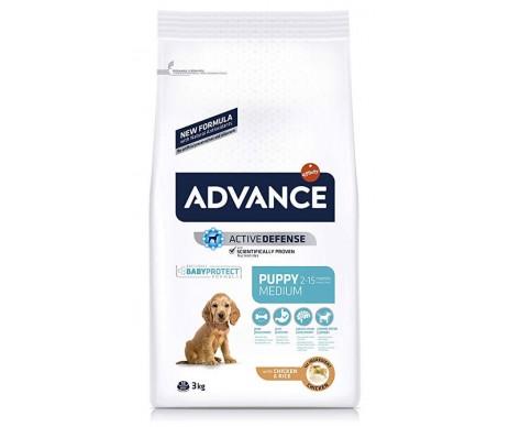 Advance Medium Puppy Курица и рис сухой корм для щенков