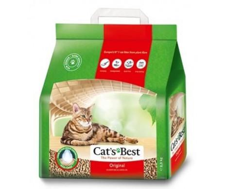 Cat's Best Eko Plus наполнитель для кошачьего туалета