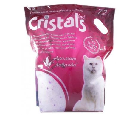 Cristals Песок силикагелевый наполнитель для кошачьего туалета