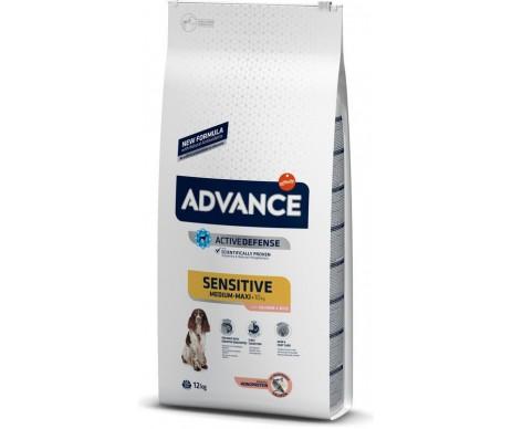 Advance Dog Adult Sensitive Medium Maxi Salmon Rice
