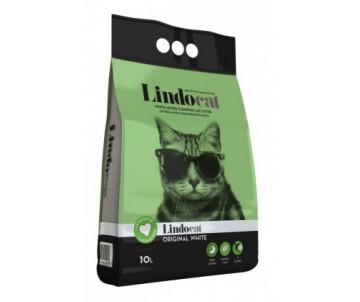 Lindocat Original White бентонитовый мелкий наполнитель для кошачьего туалета без запаха