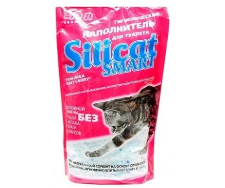 Silicat силикагелевый наполнитель для кошачьего туалета