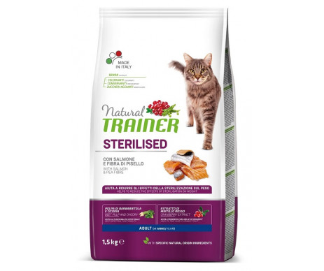 Trainer Natural Cat Adult Sterilised Salmon