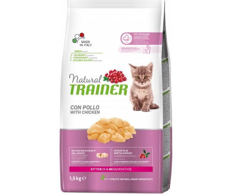 Trainer Natural Kitten With Fresh Chicken