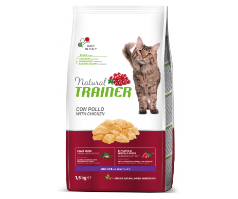 Trainer Cat Natural Mature Cat With Fresh Chicken
